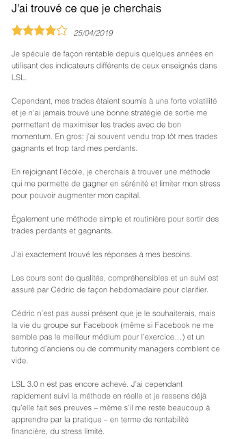 Témoignage Xavier 1 - Le Spéculateur Libre Avis